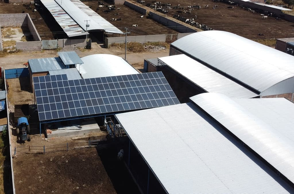 trabajo de energy green