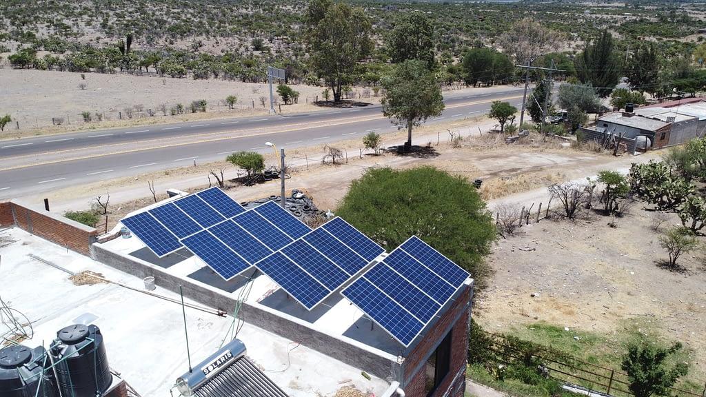 Paneles Solares Queseria